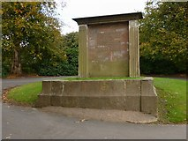 NS5769 : Memorial to Andrew Connal Arthur by Lairich Rig