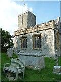 SY7190 : St Michael, Stinsford: churchyard (c) by Basher Eyre