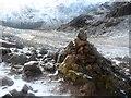 NY1913 : Cairn on Haystacks by Anthony Parkes