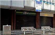 """J3374 : """"To let"""" shop, Belfast (25) by Albert Bridge"""