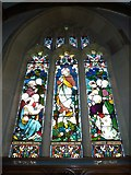 SY7190 : St Michael, Stinsford: window (A) by Basher Eyre