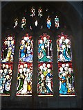 SY7190 : St Michael, Stinsford: window (E) by Basher Eyre