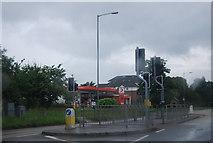 TQ0487 : Filling Station, Denham by N Chadwick