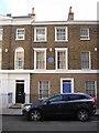 TQ2978 : Gillingham Street, Pimlico: former home of Joseph Conrad by Christopher Hilton