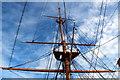 SU6200 : HMS Warrior, Portsmouth Historic Dockyard, Portsmouth, Hampshire by Christine Matthews
