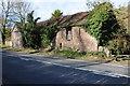 SO6818 : Old roadside barn by Philip Halling