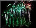 NT0887 : Dunfermline fireworks display 2012 by William Starkey