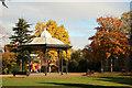 SK7954 : Castle grounds by Richard Croft