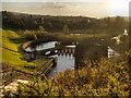 SK0297 : Waterworks, Bottoms Reservoir by David Dixon