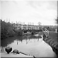 SP0579 : Lifford Swing Bridge, 1965 by Robin Webster
