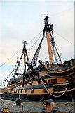 SU6200 : HMS Victory, Portsmouth Historic Dockyard, Hampshire by Christine Matthews