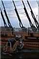 SU6200 : Cannon on HMS Victory, Portsmouth Historic Dockyard, Hampshire by Christine Matthews