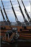 SU6200 : Cannon on HMS Victory, Portsmouth Historic Dockyard, Hampshire by Christine Matthews