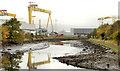 J3675 : The Connswater at the Sydenham bypass, Belfast (2) by Albert Bridge