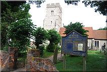 TQ9293 : Church of St Peter, Paglesham by N Chadwick