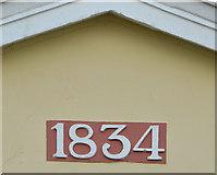 J1586 : First Presbyterian church, Antrim (2) by Albert Bridge