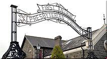 J1586 : First Antrim Presbyterian church (3) by Albert Bridge