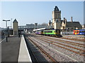 SK9770 : Lincoln Central railway station by Nigel Thompson