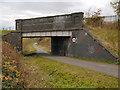 SJ8894 : Fallowfield Loop Line, Bridge#14 (Nelstrop Road) by David Dixon