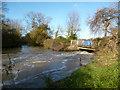 SP5206 : River Cherwell Below The Weir by Des Blenkinsopp
