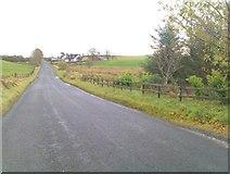H5475 : Loughmacrory Road, Streefe Glebe by Kenneth  Allen