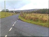 H5575 : Loughmacrory Road, Streefe Glebe by Kenneth  Allen