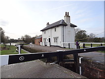 SP6989 : Lock keeper's Cottage by Bryan Pready
