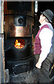 SJ6903 : Blists Hill Victorian Town - an eye on the water level by Chris Allen