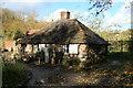 SJ6903 : Blists Hill Victorian town - 'squatter's cottage' by Chris Allen