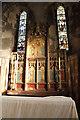 SK9443 : Reredos, St Wilfred's church, Honington by J.Hannan-Briggs