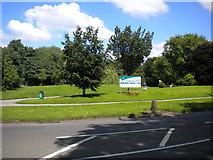 SK3836 : Entrance to Chaddesden Park by Richard Vince