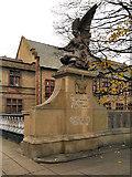 SJ9698 : Angel and Soldier, Stalybridge War Memorial by David Dixon