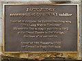 SJ9698 : Jack Judge (plaque) by David Dixon