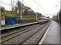SJ9496 : Flowery Field Railway Station by David Dixon