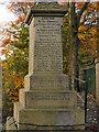 SJ9696 : Victoria Street War Memorial (dedication) by David Dixon