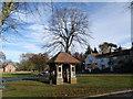 SE3263 : Former  Village  Well  Burton  Leonard by Martin Dawes