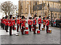 SD8010 : Bury Market Place, Remembrance Day by David Dixon