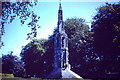 SE9264 : Eleanor Cross at Sledmere in July 1957 by Neil Theasby
