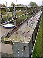 TA0623 : Barrow Haven - Girder of Rail Bridge by David Wright