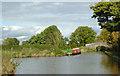 SJ6151 : Winding hole near Stoneley Green, Cheshire by Roger  Kidd
