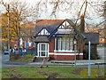 SJ9594 : Hyde Hospital Lodge by Gerald England