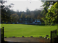 NY3956 : Carlisle Cricket Club Pavilion by Graham Robson
