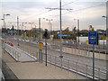 SJ8798 : Metrolink Extension, Velopark Station by David Dixon