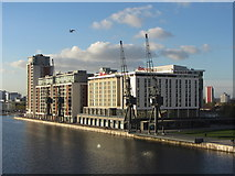 TQ4080 : Hotels, Royal Victoria Dock by Gareth James