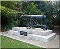 TL7005 : Sebastopol Cannon in Oaklands Park by Paul Franks