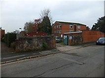 SX9392 : Polling station entrance by David Smith