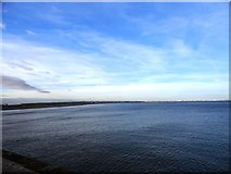 NZ5428 : View across Tees Bay by Robert Graham