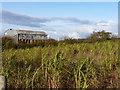 SJ3007 : Dutch barn near Haywood Farm by Richard Law