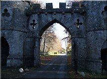 J3532 : Tollymore Park's Barbican Gate by Eric Jones
