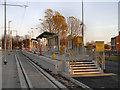 SJ8798 : Clayton Hall Metrolink Stop by David Dixon